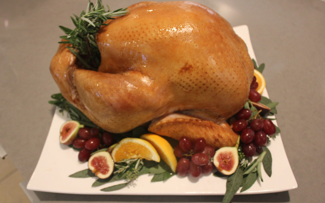 Thanksgiving Recipe: Stuffed Young Turkey Auvergne Style with Stuffed Onions from Paula Wolfert