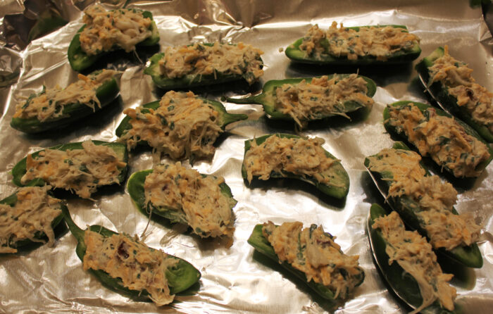 Super Bowl Idea: Cajun Crab Poppers