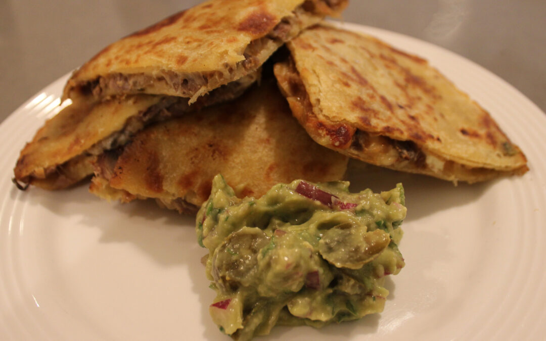 Duck Confit Quesadillas