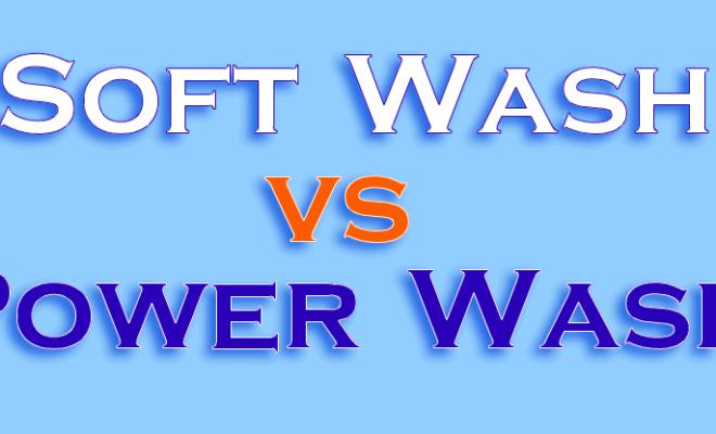 soft wash vs power wash