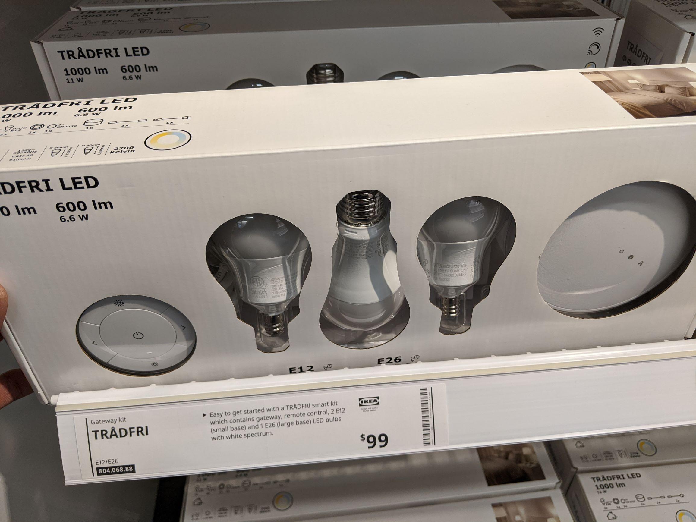 Do Ikea Smart Bulbs need a Hub?