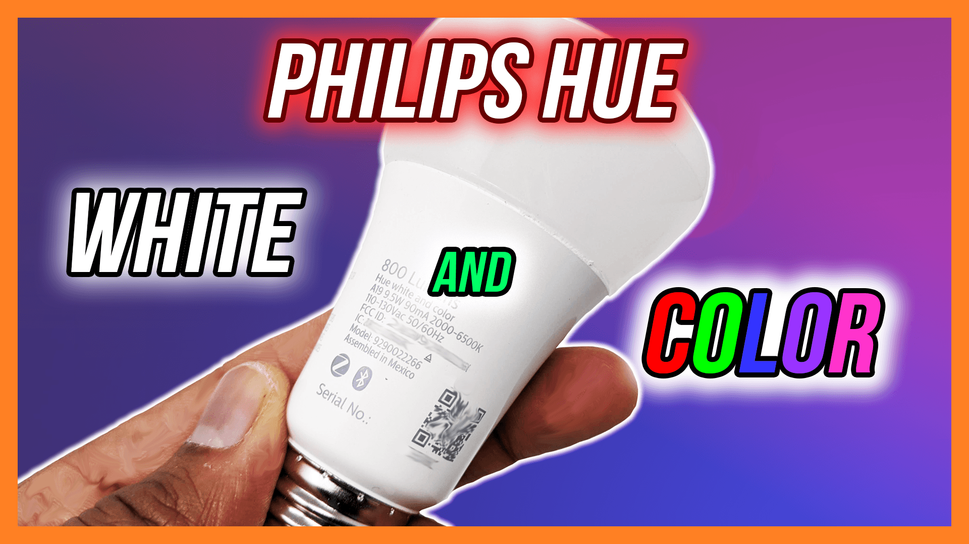 Philips Hue White and Color A19 Light Bulb
