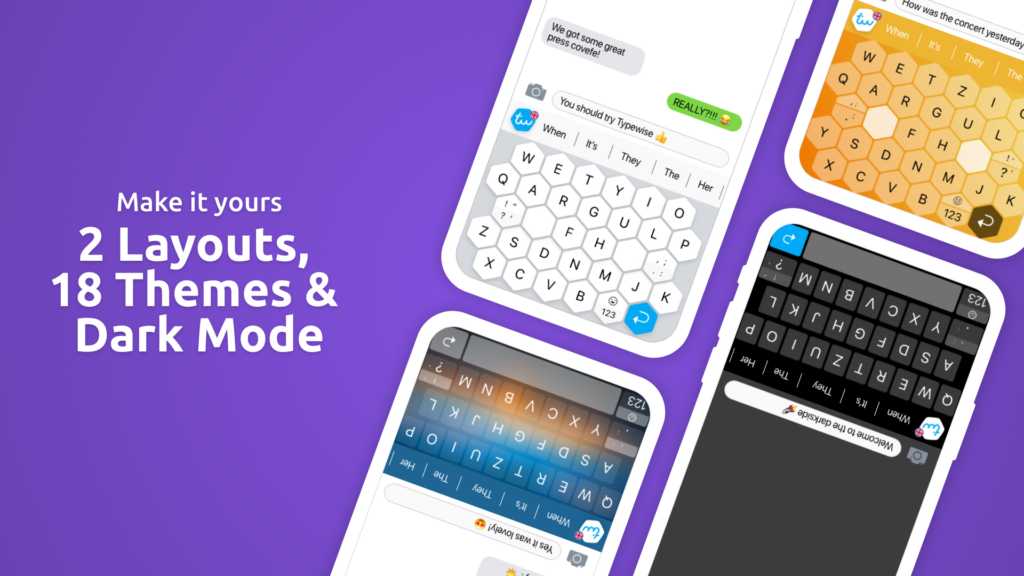 Typewise 3.0 Layouts and Theme