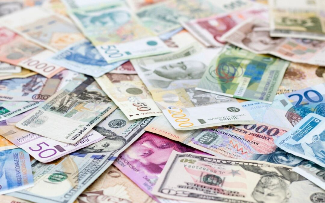 Currency Values in a Zero Interest Rate World