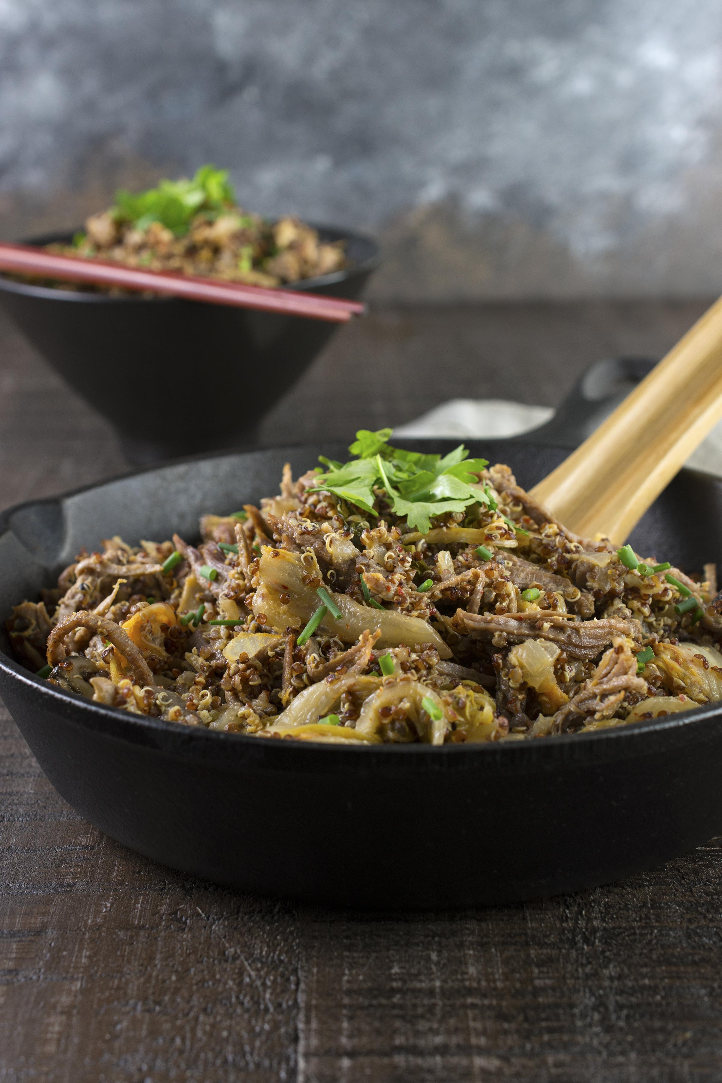 Kimchi Fried Quinoa