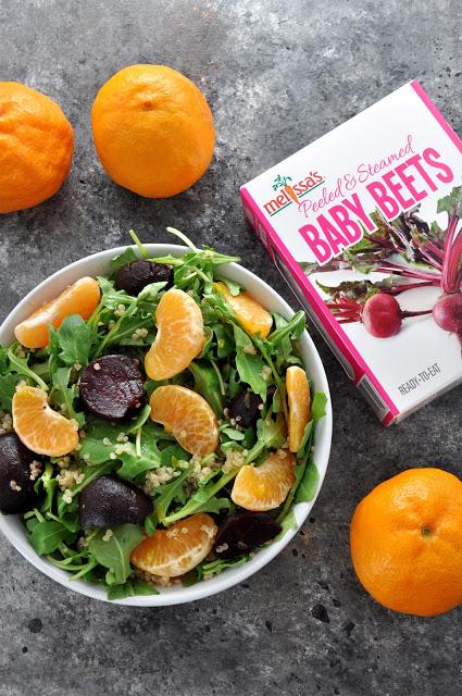 Ojai Pixie Beet Arugula Salad