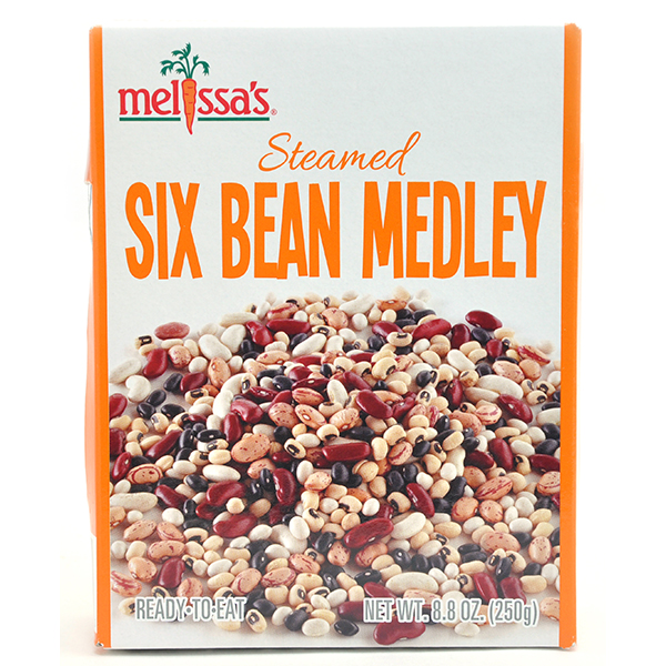 Steamed Six Bean Medely