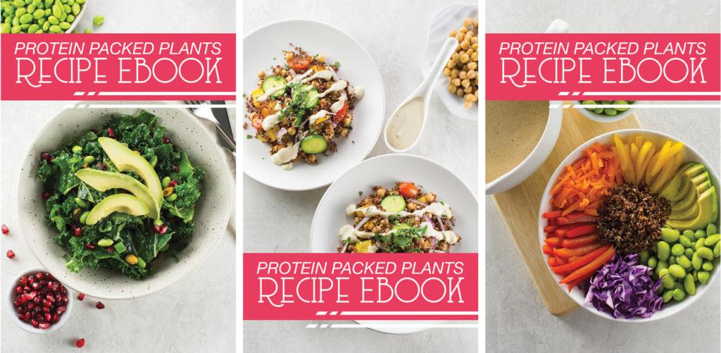 Plant-Based Protein eBook   vegan recipes, bowl recipes, protein salad, vegan protein, plant-based recipe