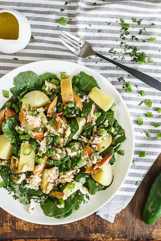 The Ultimate Potato Recipe Roundup l smoked trout potato salad