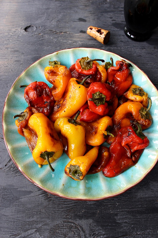 25 delicious ways to spice up National Pepper Month l roasted red pepper salad