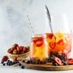 Icy Fourth of July Melon and Raspberry Margarita for Hot Summer Fun