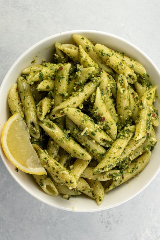 pesto pasta recipe, st. patrick's day, st. patty's day, green food, st. patrick's day recipe, pesto, pasta recipe