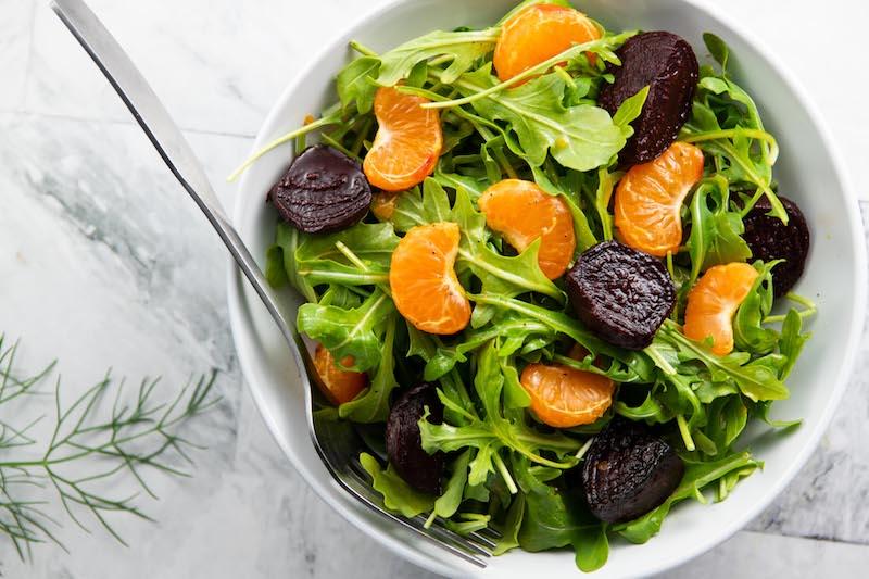 pixie tangerines, salad recipe, easter brunch, easter recipe, plant based