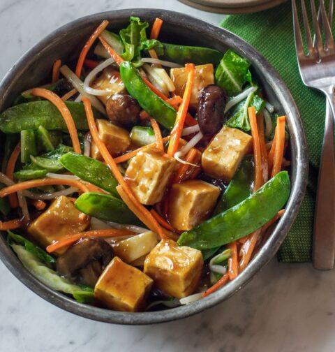 buddha delight, asian recipes, stir fry