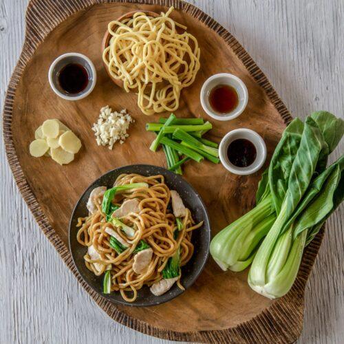 Lo Mein Noodles Jet Tila