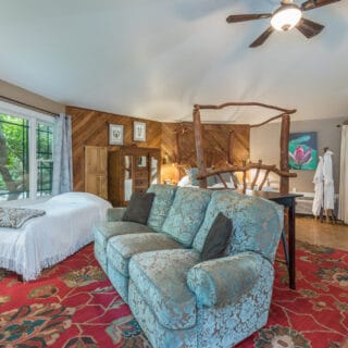My Roundette has an open layout - The Cove at Fairview Vacation Rentals - Asheville NC