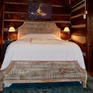 Linens provided at the Garden Cabin - The Cove at Fairview - Vacation Rentals - Asheville, NC
