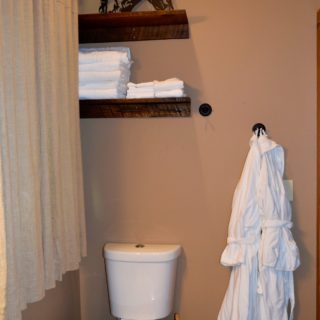 Huntley Main Floor Bathroom - The Cove at Fairview Vacation Rentals - Asheville NC