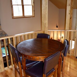 The Game room at My Place has a game table - The Cove at Fairview - Vacation Rentals- Asheville, North Carolina