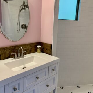 My Roundette bathroom has recently been renovated.
