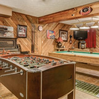 Our House Game Room - The Cove at Fairview Vacation Rentals - Asheville NC