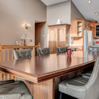 Open layout at Our House - The Cove at Fairview Vacation Rentals - Asheville NC