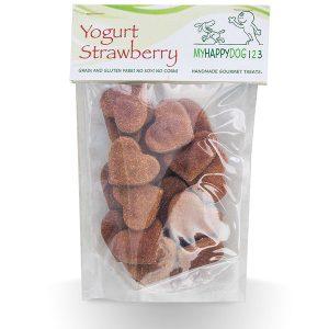 Yogurt-Strawberry-Dog-Treats