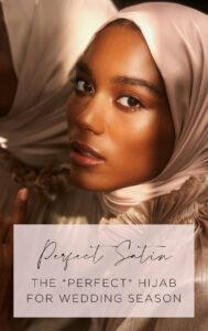 Perfect Satin hijab.