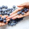 Blueberries eat now