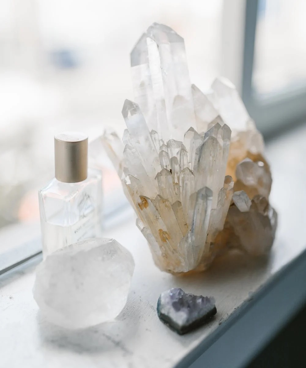 Crystal feng shui bedroom