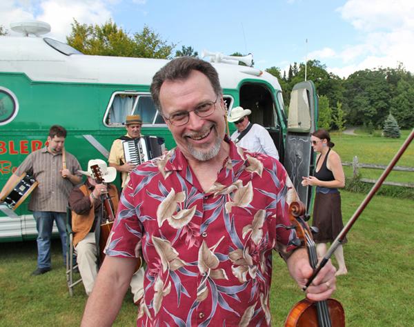 Doug Reid with the Ramblers