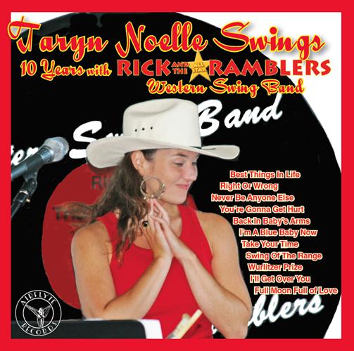 Taryn Noelle Swings Album Cover