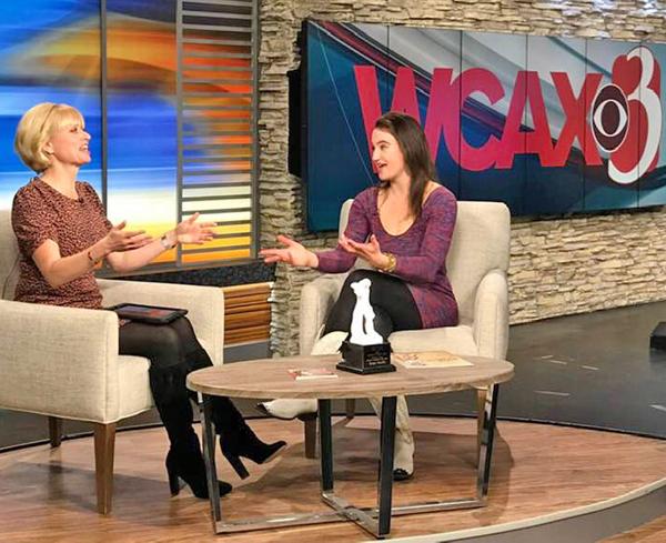 Vocalist Taryn Noelle on WCAX TV