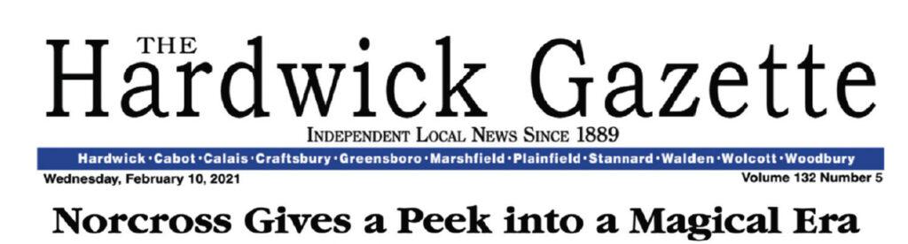 Press Pass Photos by Rick Norcross in Hardwick Gazette.