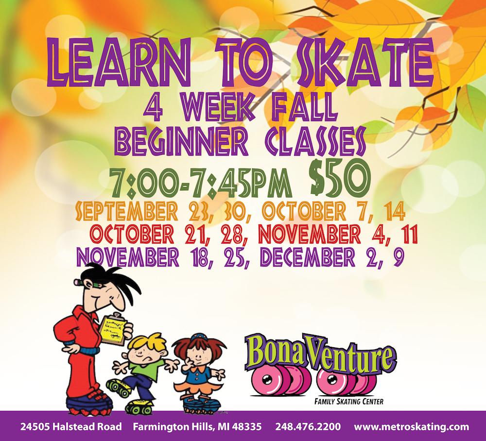 Fall Skating Classes