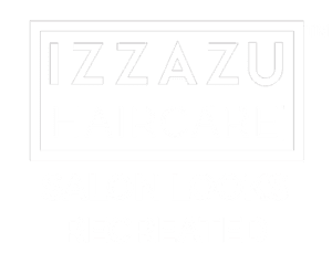 Izzazu Hair Care Products Logo