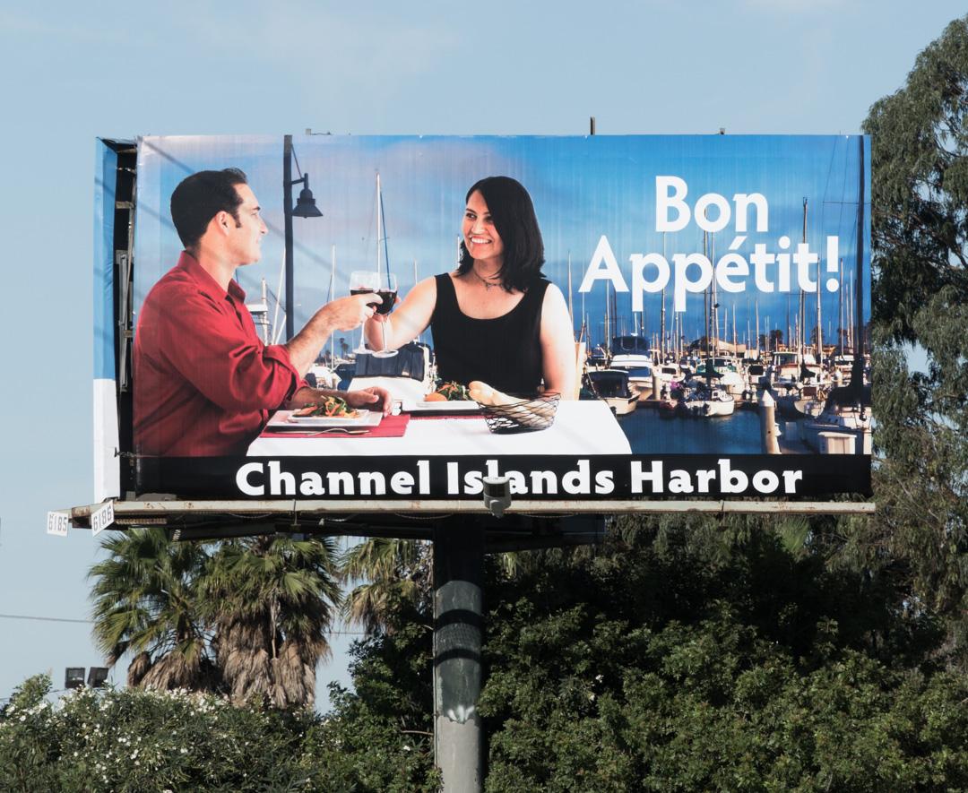 Billboard in the wild