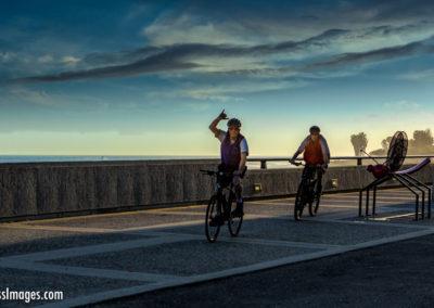 Cyclists Ventura Promenade 2-1