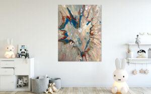 Renee Martine—Artist | acrylic abstract Rocklin CA