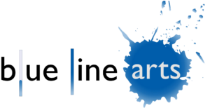 Blue Line Art logo