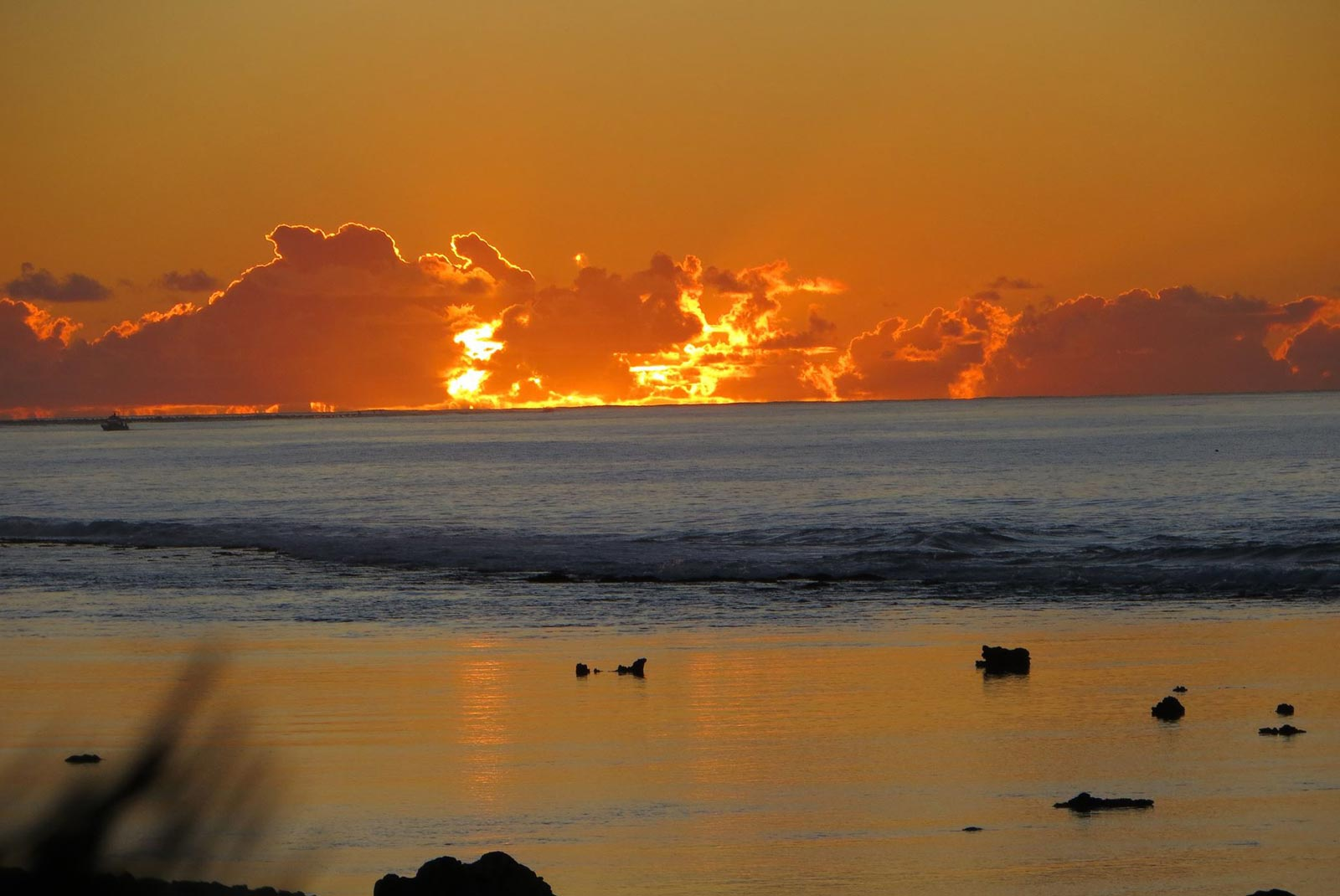 Stunning sunsets