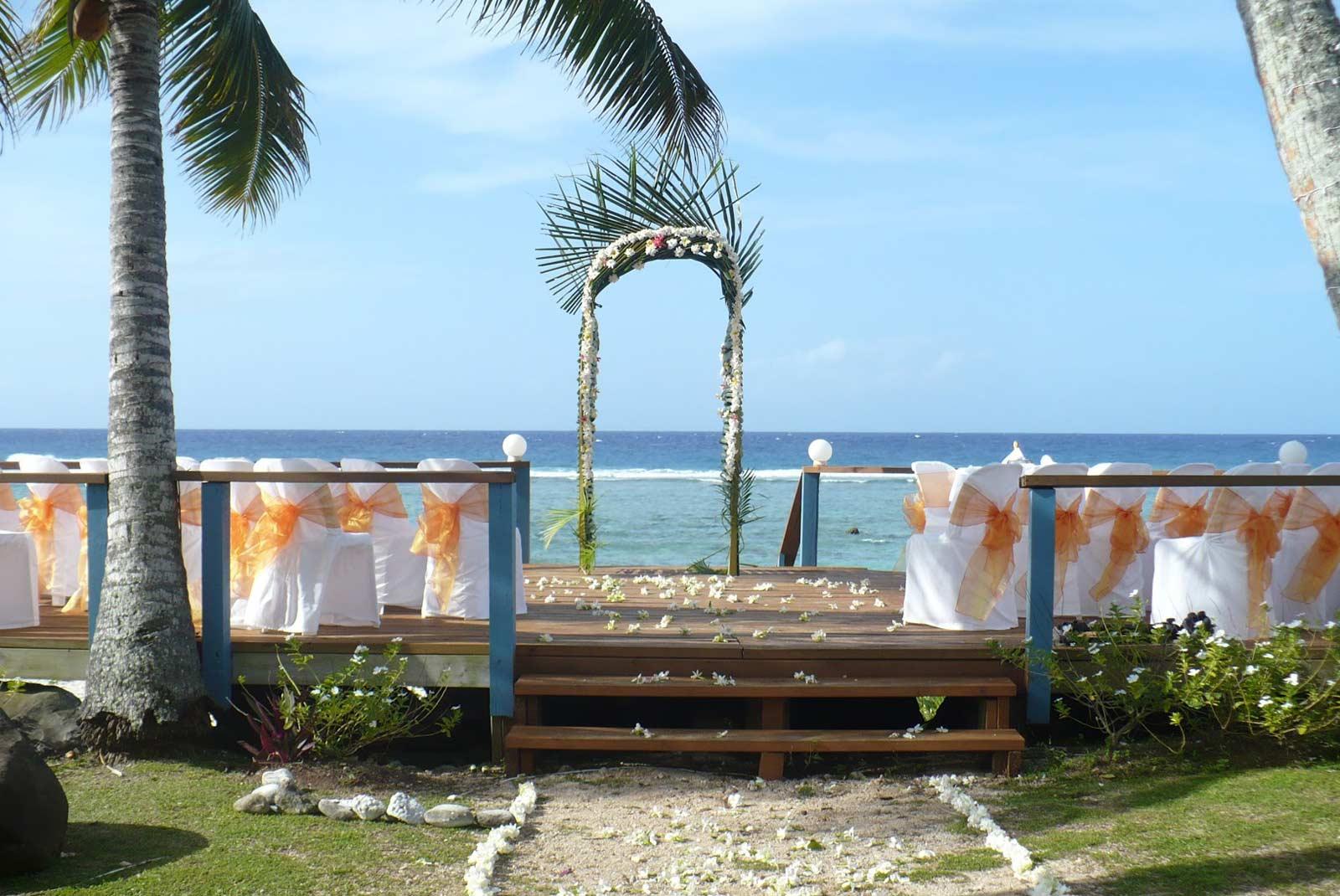 Weddings and Events at Tamarind House, Rarotonga