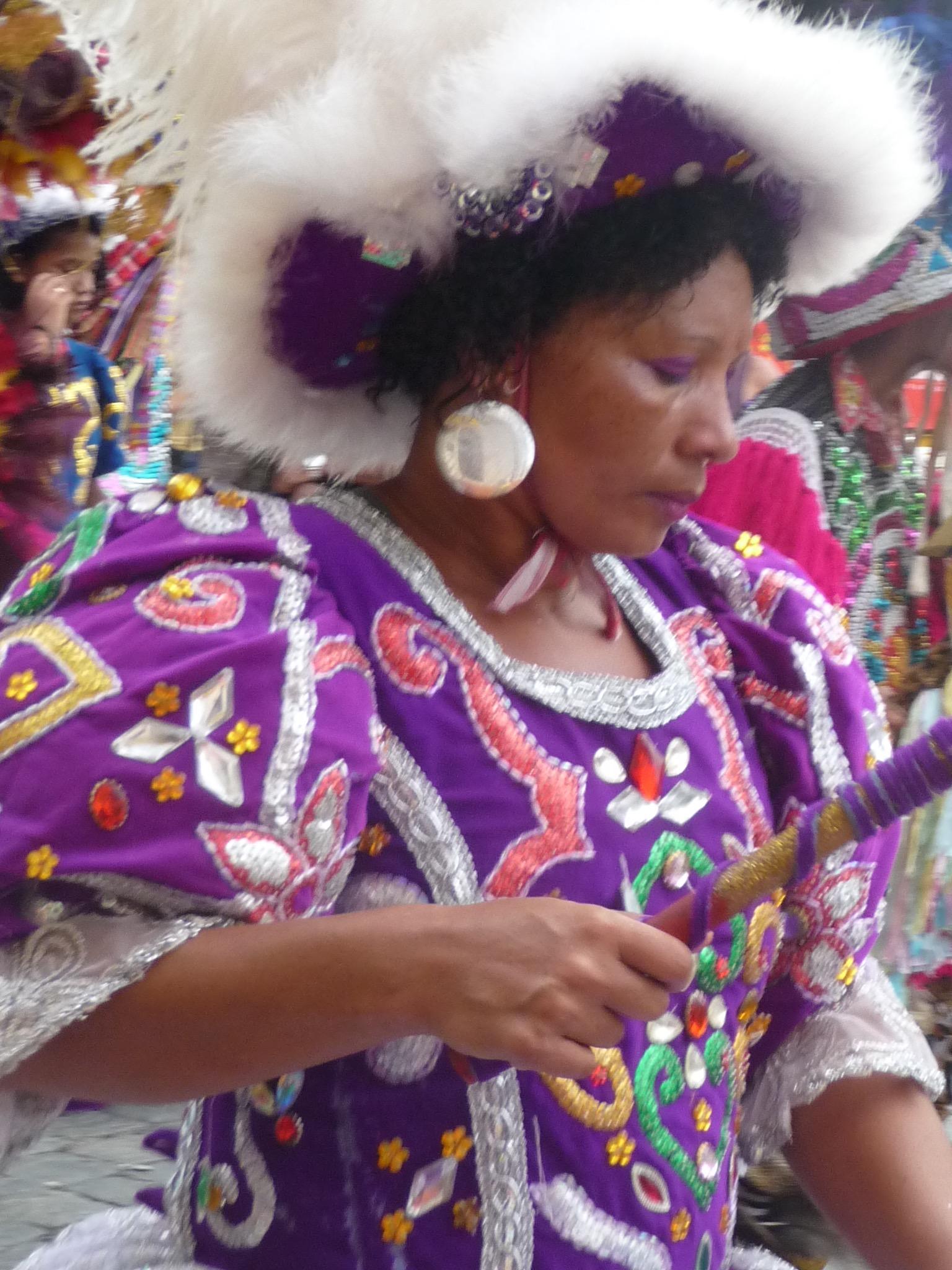 Dancing woman Coboclo