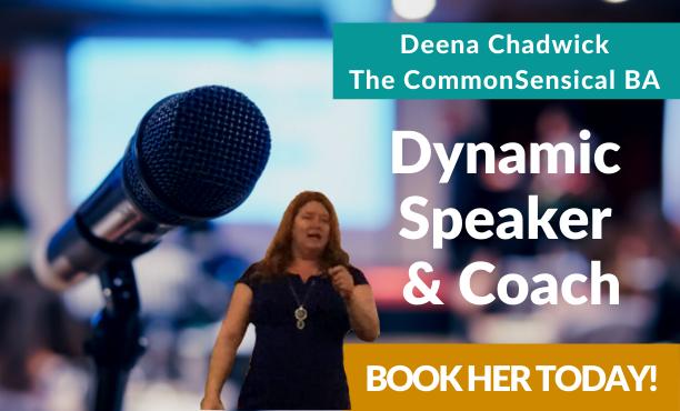 Deena Chadwick Dynamic Speaker & Coach Book Her Today