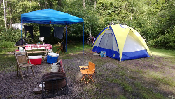 Camping, A Love Story