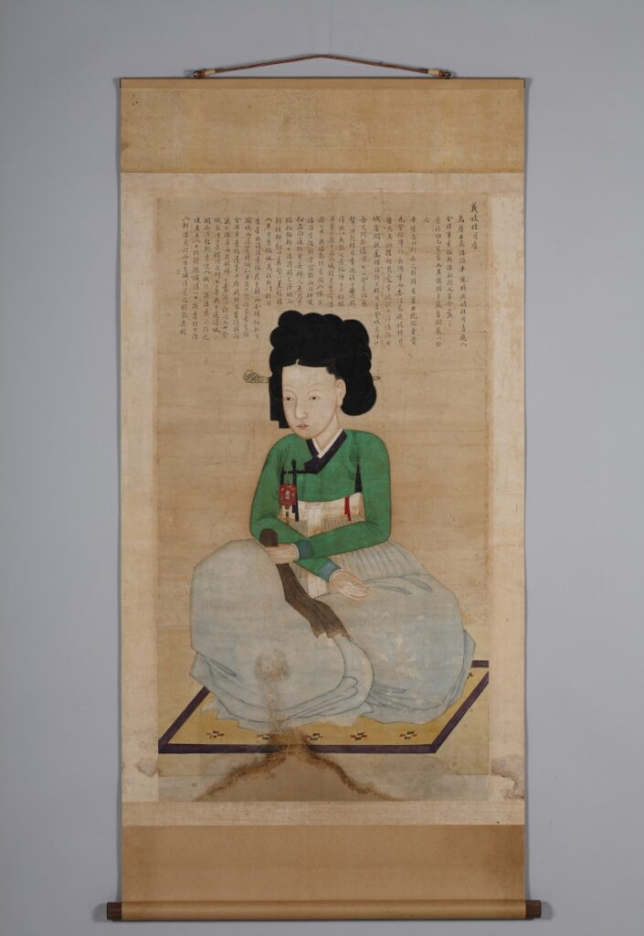 Portrait of the Righteous Entertainer Gyewolhyang