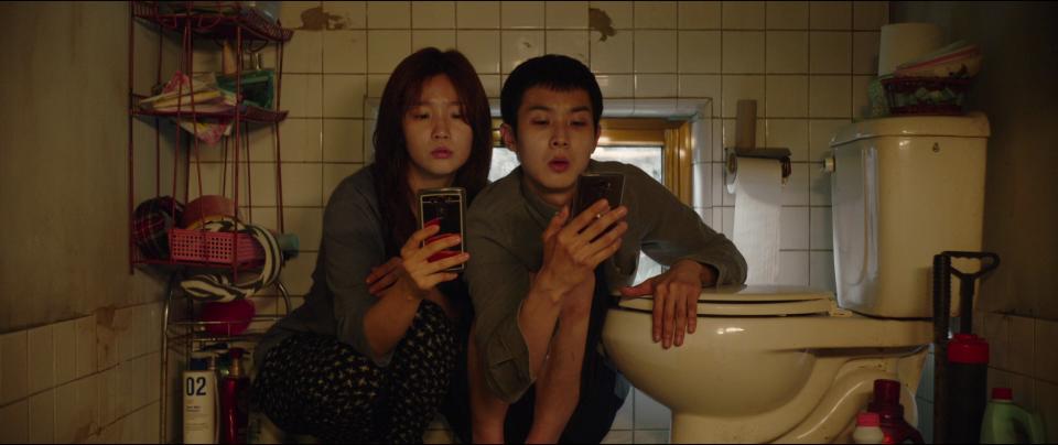 Siblings Kijung and Kiwoo (Korean cultural details in Parasite)