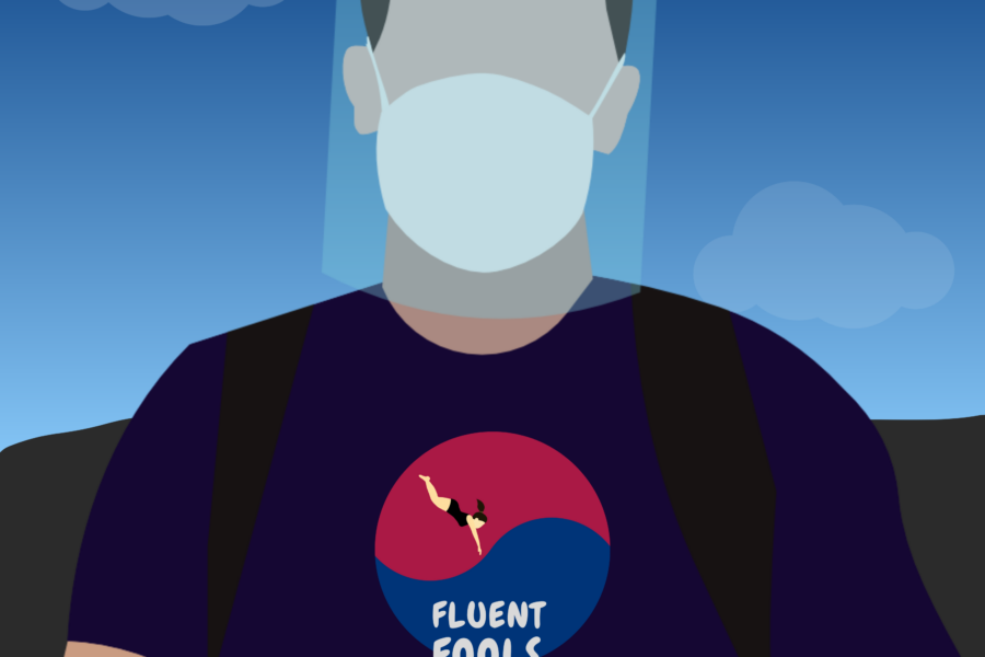 JuanJo Baiardi - traveling to Korea during a global pandemic
