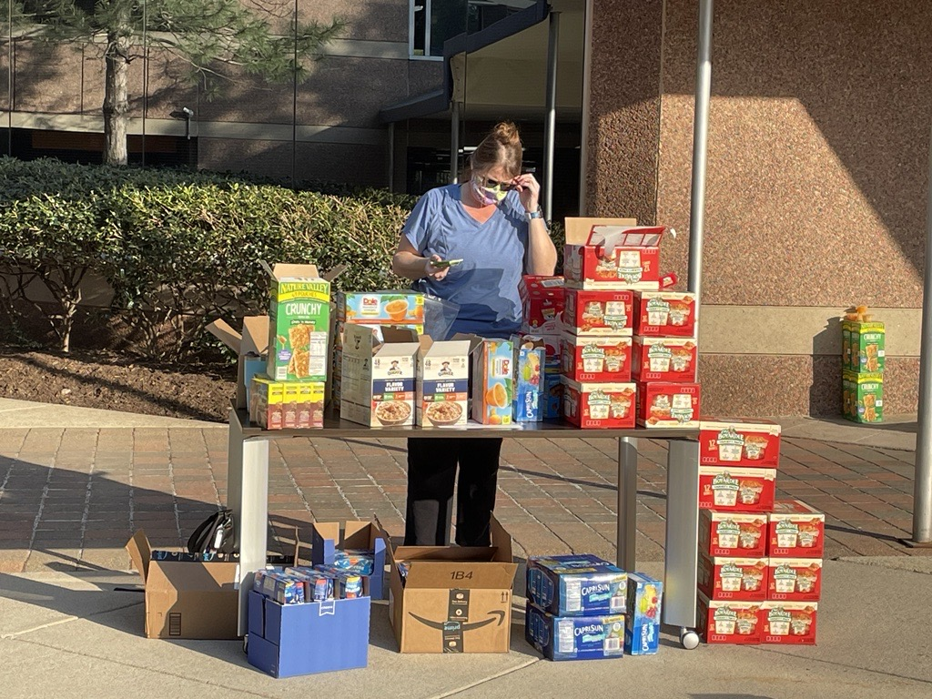 Women's History Month Food Drive