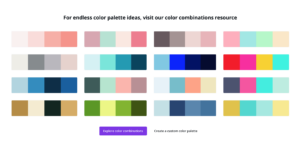 canva color palette examples